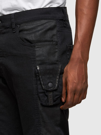 Diesel - D-Strukt 069TH, Black/Dark grey - Jeans - Image 3