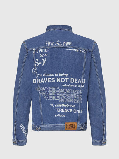 Diesel - NHILL-SP2, Light Blue - Denim Jackets - Image 2