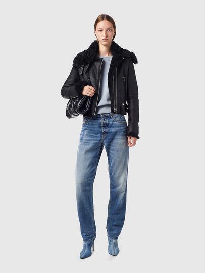 Diesel - L-MARGOT, Black - Leather jackets - Image 6