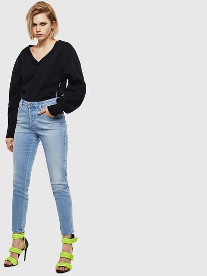 Diesel - Babhila 0095D, Light Blue - Jeans - Image 5