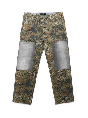 D-ONT-HURT-ME, Green Camouflage - Pants