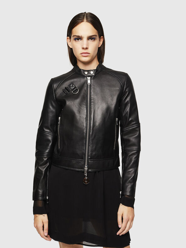 L-SUZA,  - Leather jackets