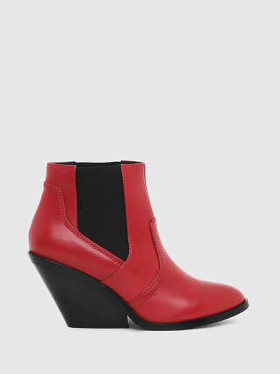 Diesel - D-FLAMINGO CB, Red - Ankle Boots - Image 1