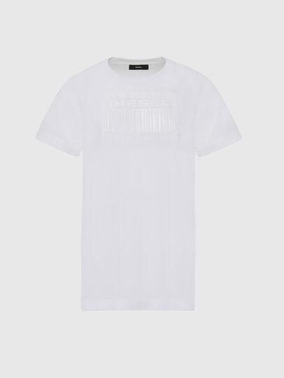 Diesel - T-DARIA-E2, White - T-Shirts - Image 1