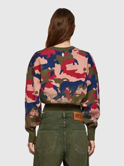 Diesel - M-MONTANA, Green/Pink - Knitwear - Image 2