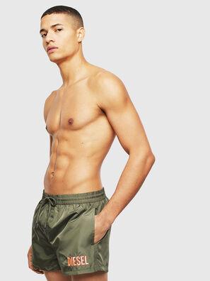 BMBX-SANDY 2.017, Olive Green - Swim shorts