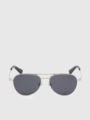 DL0291, Silver/Black - Kid Eyewear