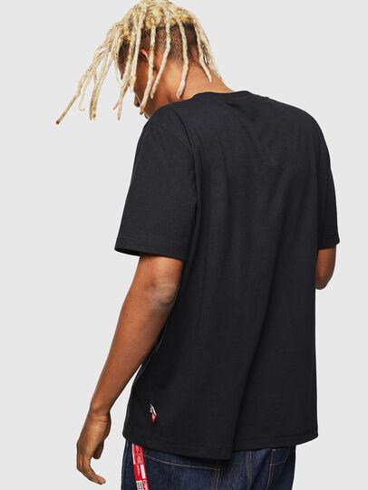 Diesel - CC-T-JUST-COLA, Black - T-Shirts - Image 3
