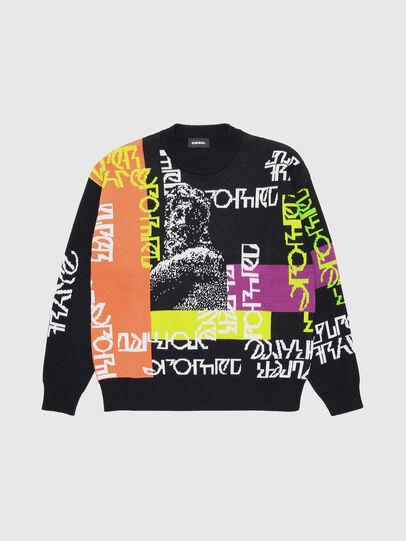 Diesel - KNOX, Multicolor/Black - Knitwear - Image 1