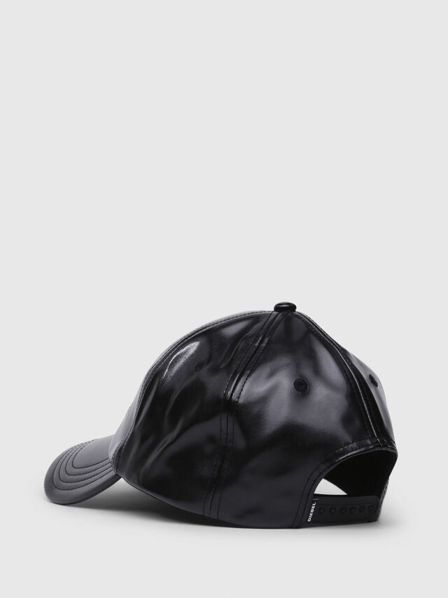 Diesel - C-RAMAX, Black Leather - Caps - Image 2
