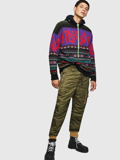 Diesel - K-CHILL, Multicolor/Black - Knitwear - Image 7