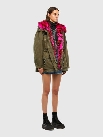 Diesel - G-URIBE, Military Green - Jackets - Image 7