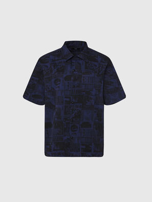 S-ROHAD-B, Blue/Black - Shirts