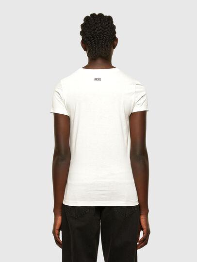 Diesel - T-SOAL-R1, White - T-Shirts - Image 2
