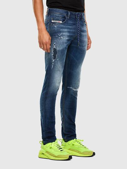 Diesel - Thommer JoggJeans 069PL, Dark Blue - Jeans - Image 5