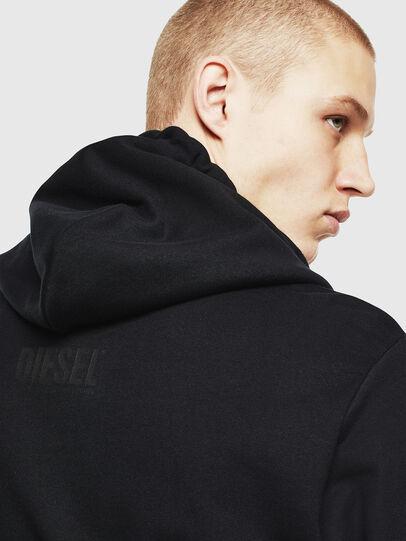 Diesel - S-GIRK-HOOD-J2, Black - Sweaters - Image 3