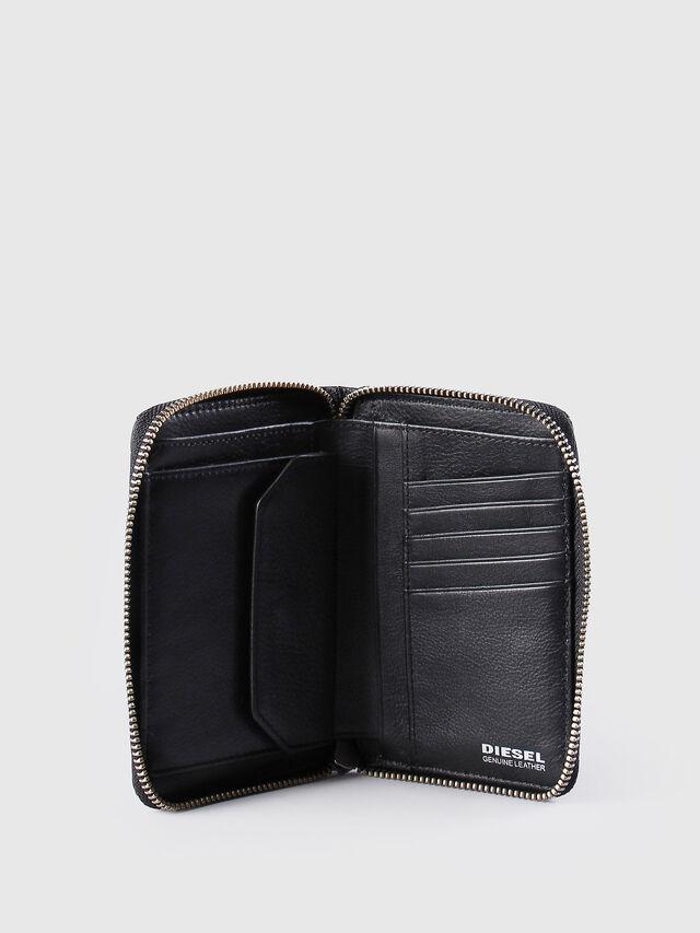 Diesel JADDAA, Black Leather - Small Wallets - Image 4