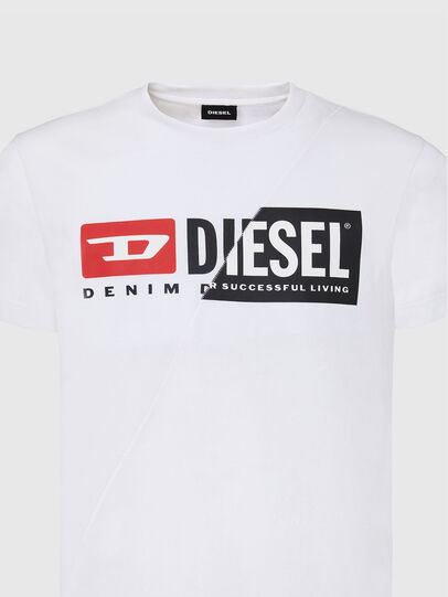 Diesel - T-DIEGO-CUTY, White - T-Shirts - Image 3