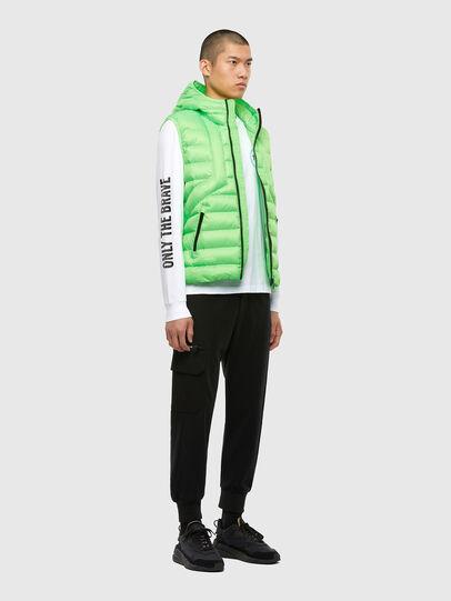 Diesel - W-DWAIN-SL, Green Fluo - Winter Jackets - Image 4