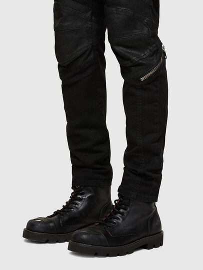 Diesel - D-Strukt 069TH, Black/Dark grey - Jeans - Image 5