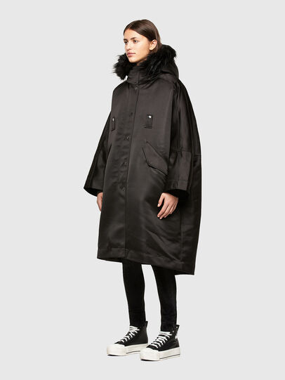 Diesel - W-URSULA-A, Black - Winter Jackets - Image 7