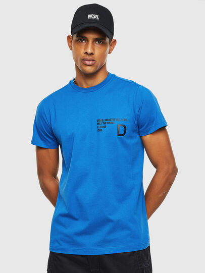 Diesel - T-HOVER, Blue - T-Shirts - Image 1