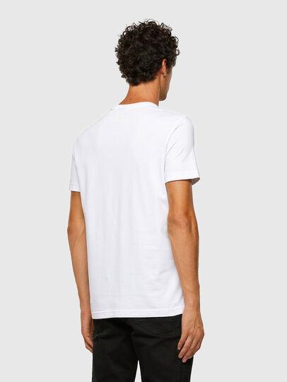 Diesel - T-DIEGOS-X47, White - T-Shirts - Image 6