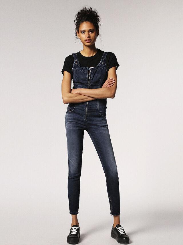 Diesel - ZEPPEL JOGGJEANS, Blue Jeans - Jumpsuits - Image 3