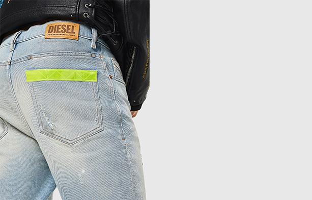D-Eetar Carrot Jeans Man