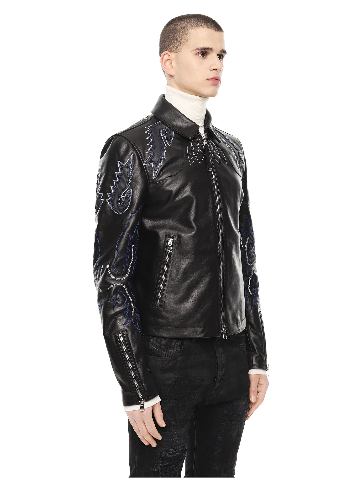 Diesel - LITEX,  - Leather jackets - Image 3