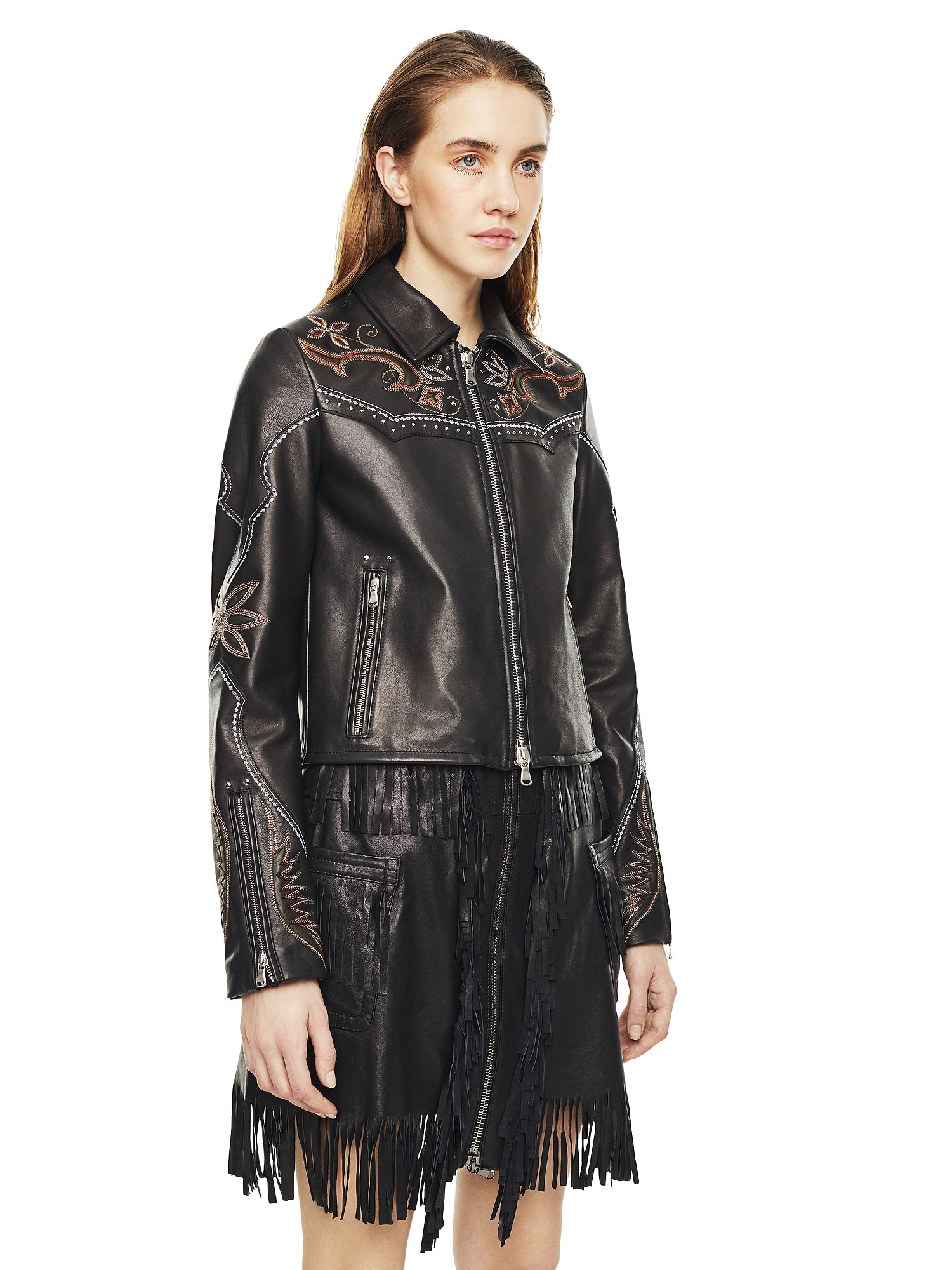 Diesel - LEXIA,  - Leather jackets - Image 5