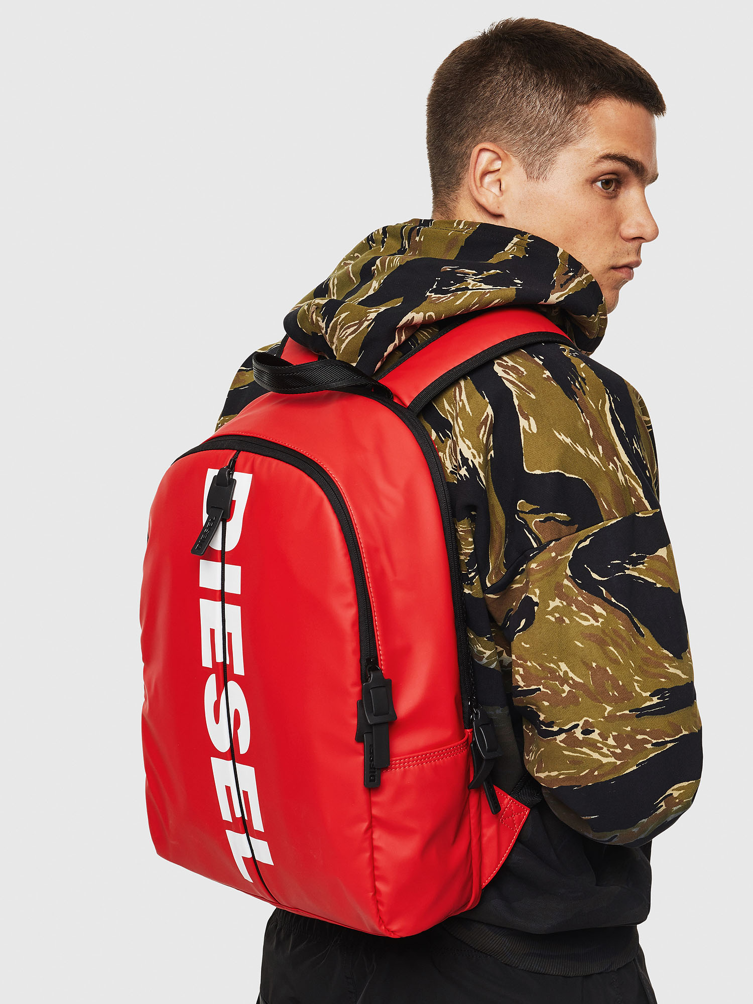 Diesel - BOLD BACK II,  - Backpacks - Image 7