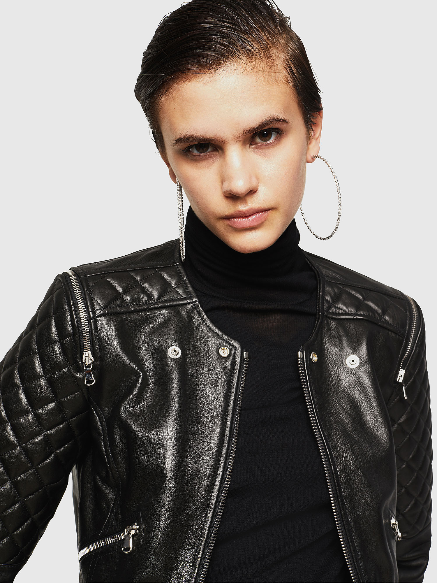 Diesel - LIVIA,  - Leather jackets - Image 3